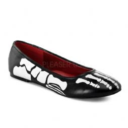 Costume Ladies X-Ray Flat Shoes